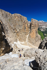 Dolomiti - landscape from Sella Mount