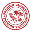Premium vacation stamp