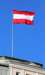 Österreich-Fahne