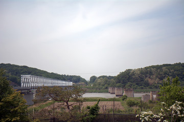 Bridge in the DMZ, Korean Republic