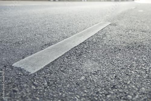 Leinwandbild Motiv Surface street traffic