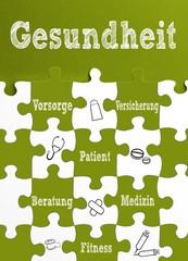 Thema: Gesundheit / Puzzle