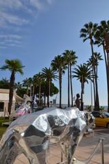 Sculpture, Cannes, La Croisette