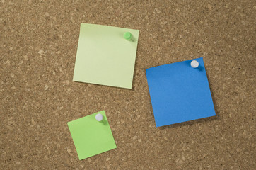 sticky notes board
