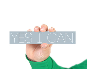 yes I Can, Motivational Phrase