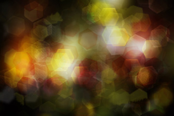 night light colorful bokeh, abstract background