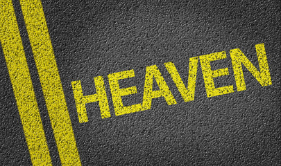 Heaven written on the road