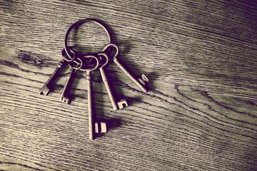 vintage door keys