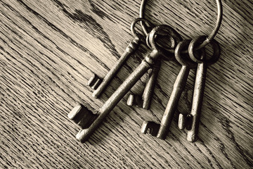 old door keys