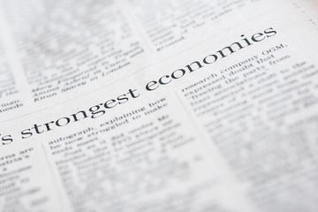 Strongest economies