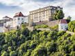 Leinwanddruck Bild - Veste Oberhaus Passau