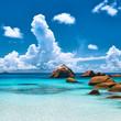 Beautiful beach at Seychelles - 66680991