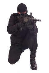 mercenary with l85a1 rifle