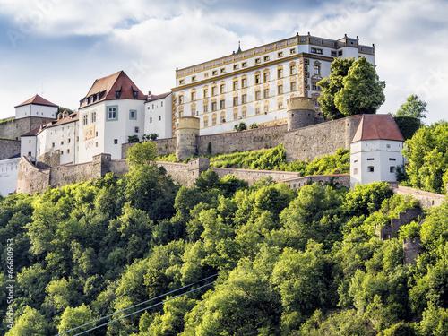 Leinwanddruck Bild Veste Oberhaus Passau