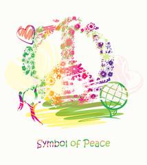 Symbol of Peace.