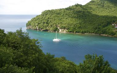 Saint Lucia Marigot Bay Caribbean 08