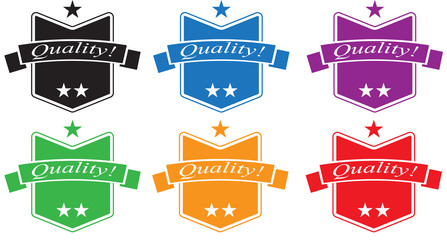 Quality Badges Set