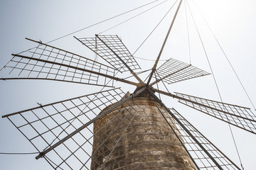 old windmill in sicily