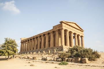 Temple of Concordia, Valley of the Temples, Agrigento, Sicily, I
