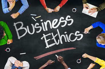 People Working and Business Ethics Concept