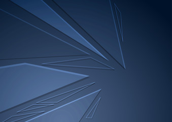 Abstract crystal folder concept background