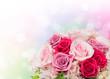 Obrazy na płótnie, fototapety, zdjęcia, fotoobrazy drukowane : バラの花束