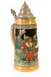 canvas print picture - Decorative Bavarian Beer Stein II