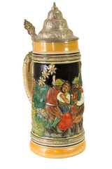 Decorative Bavarian Beer Stein II