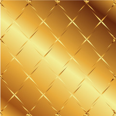 Gold Material texture pattern background Vector