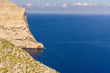 Cliffs on mallorca