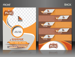 Pizza Shop flyer & Poster Template