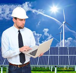 Ingenieurwesen für erneuerbare Energien // renewable energie