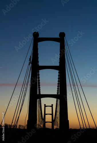 Suspension Bridge Towers