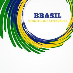 vector brazil design