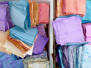 teinture artisanale de papiers