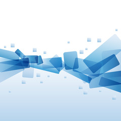 Vector water and ice background