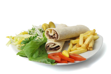 Dürüm Et Döner - Clipping Path Inside
