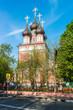 beautiful Orthodox church in Moscow