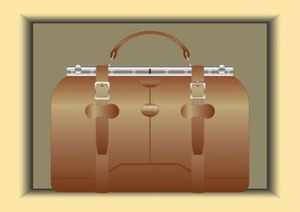 Traveling bag.