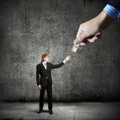 Bribe offering