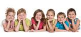 Six happy children - 66697328
