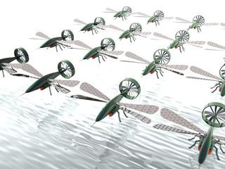 Drone invasion