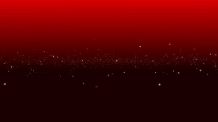 red and black gradient background, center particle element, loop