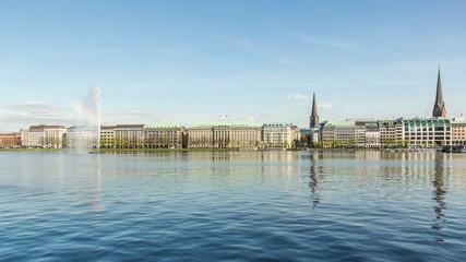 Hamburg Binnen Alster DSLR hyper lapse