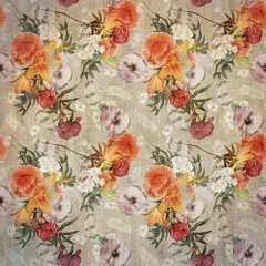 floral design vintage