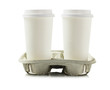 Paper Cups In Holder