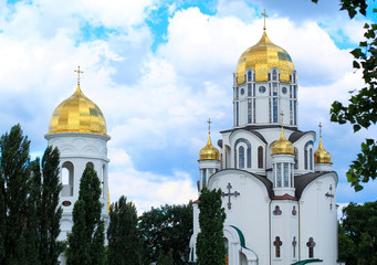 modern orthodox church in kiev