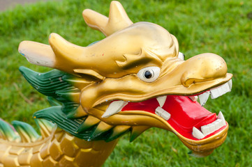 DRAGON BOAT HEAD