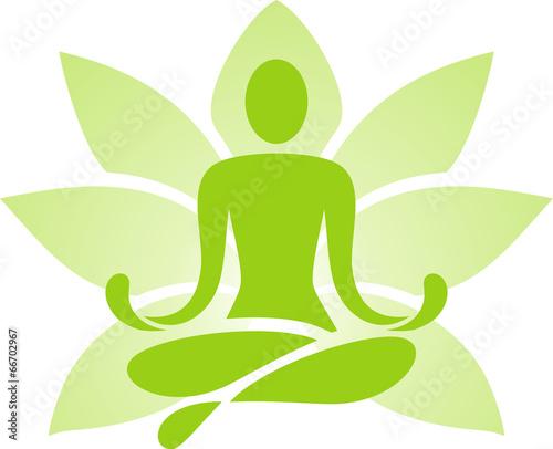 Symbol of yoga - 66702967