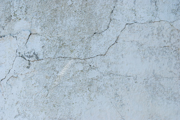 Gray cracked plaster texture